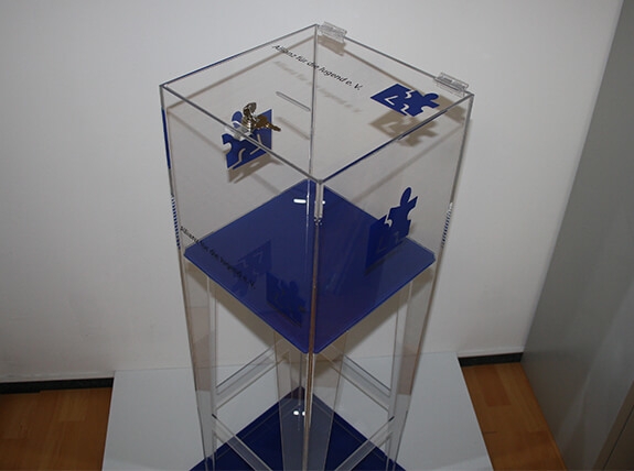 Plexiglas Sammelbox